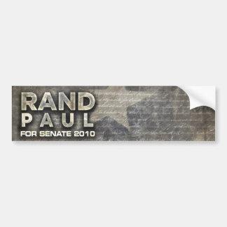 Rand Bumper Sticker