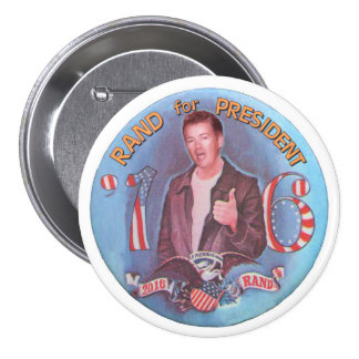 Rand for President '16 Button