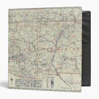 Rand McNally Official 1925 Auto Trails Binder