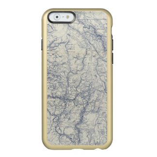 Rand McNally Official 1925 Auto Trails Map 2 Incipio Feather® Shine iPhone 6 Case