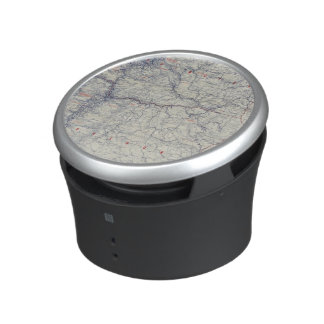 Rand McNally Official 1925 Auto Trails Map Bluetooth Speaker