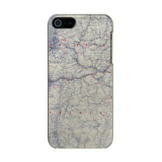 Rand McNally Official 1925 Auto Trails Map Incipio Feather® Shine iPhone 5 Case