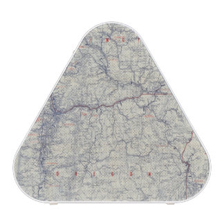 Rand McNally Official 1925 Auto Trails Map Speaker