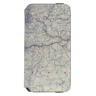 Rand McNally Official 1925 Auto Trails Map Incipio Watson™ iPhone 6 Wallet Case