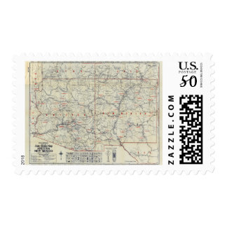 Rand McNally Official 1925 Auto Trails Postage