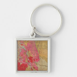 Rand McNally s new geological map Key Chain