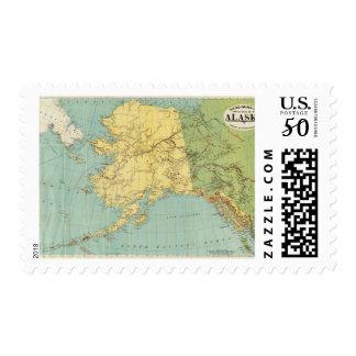 Rand McNally's Map Of Alaska Postage