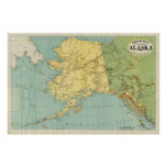 Rand McNally's Map Of Alaska Print