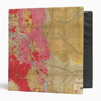 Rand McNally's new geological map 3 Ring Binder