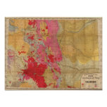 Rand McNally's new geological map Print