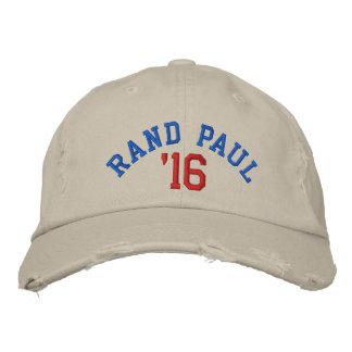 RAND PAUL '16 Distressed Chino Twill Cap