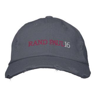 RAND PAUL 16 Ladies (Distressed Chino Twill) Cap