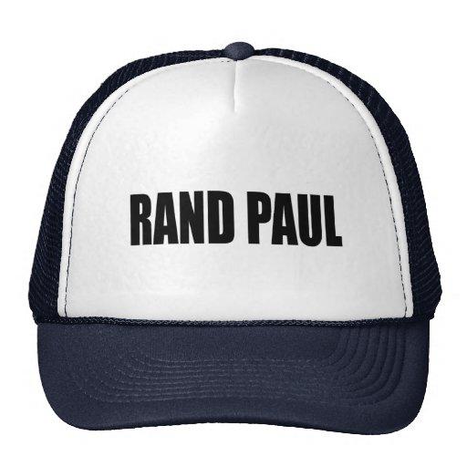 RAND PAUL 2010 MESH HATS