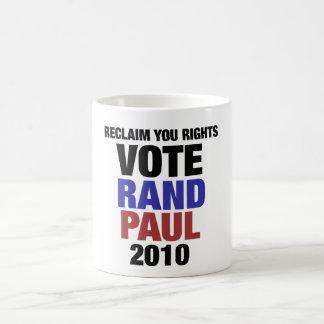 Rand Paul 2010 Taza Clásica
