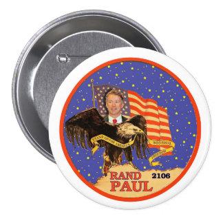 Rand Paul 2016 3 Inch Round Button