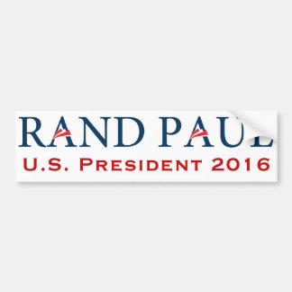 Rand Paul 2016 Pegatina De Parachoque
