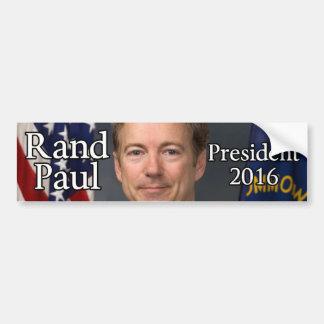Rand Paul 2016 Etiqueta De Parachoque
