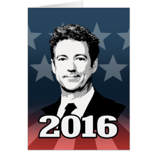RAND PAUL 2016 CANDIDATE GREETING CARDS
