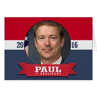 RAND PAUL 2016 CARD