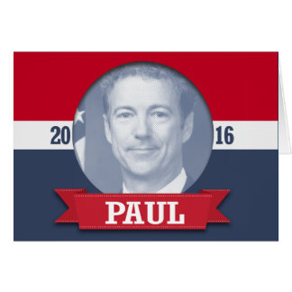 Rand Paul 2016 Greeting Card