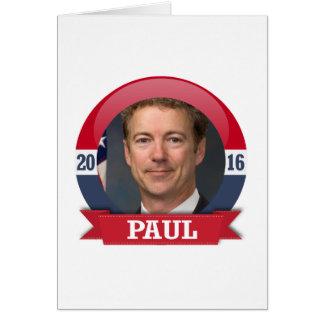 Rand Paul 2016 Cards