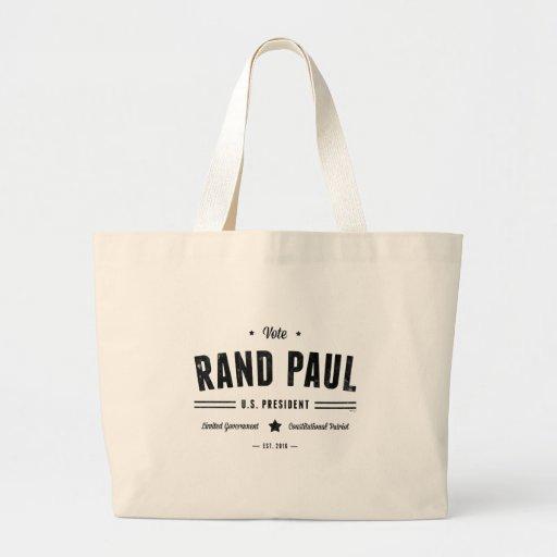 Rand Paul 2016 del voto Bolsas