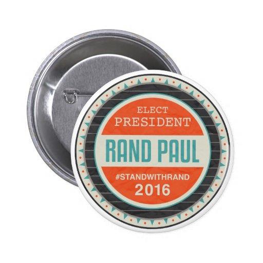 Rand Paul 2016 del voto Pin
