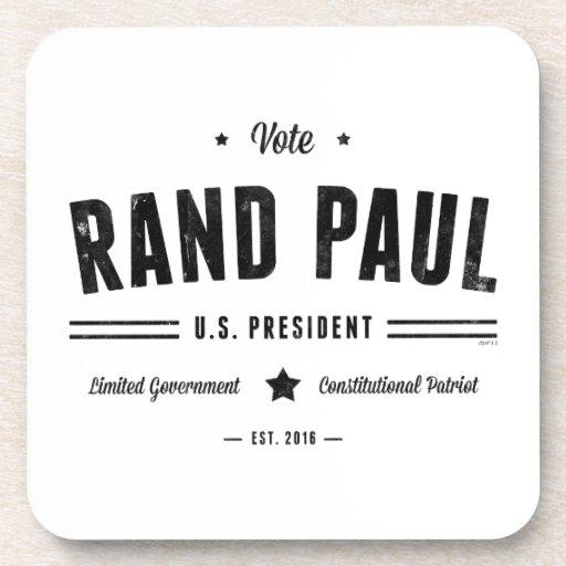 Rand Paul 2016 del voto Posavasos