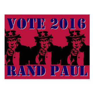 RAND PAUL 2016 DEL VOTO POSTAL