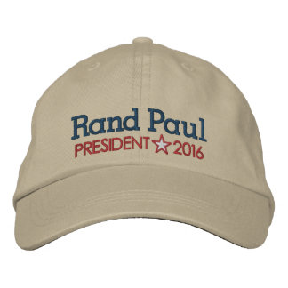Rand Paul 2016 Embroidered Baseball Hat