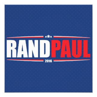 Rand Paul 2016 (estrellas y rayas - azul) Impresion Fotografica