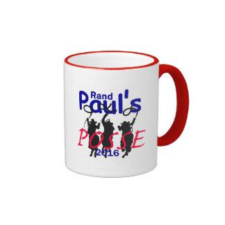 Rand Paul 2016 Ringer Coffee Mug