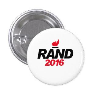Rand Paul 2016 Pin Redondo 2,5 Cm