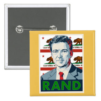 Rand Paul 2016 Pin Cuadrada 5 Cm