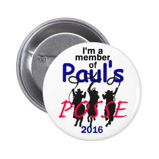 Rand Paul 2016 Pin