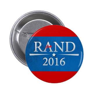 Rand Paul 2016 Pin Redondo De 2 Pulgadas