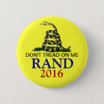Rand Paul 2016 Pinback Button