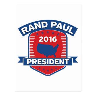 Rand Paul 2016 Postcard
