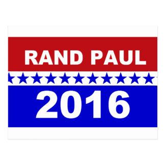 Rand Paul 2016 Post Cards