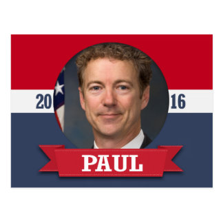 Rand Paul 2016 Post Card