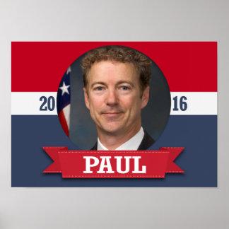 Rand Paul 2016 Póster
