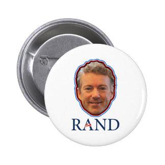 Rand Paul 2016 President Senator Constitution 2 Inch Round Button