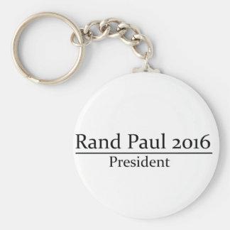 Rand Paul 2016 President Simple Design Basic Round Button Keychain
