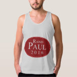 Rand Paul 2016 Red Oval Campaign Tank Top