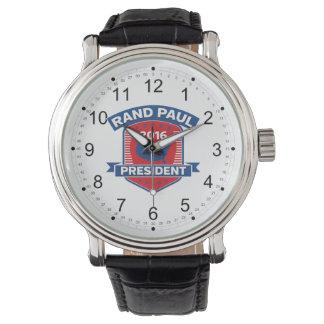 Rand Paul 2016 Reloj