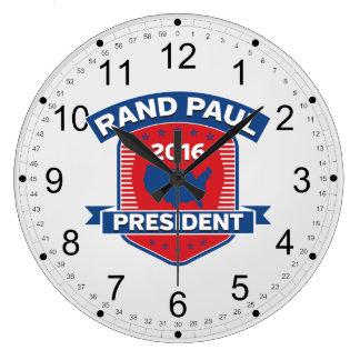 Rand Paul 2016 Reloj Redondo Grande