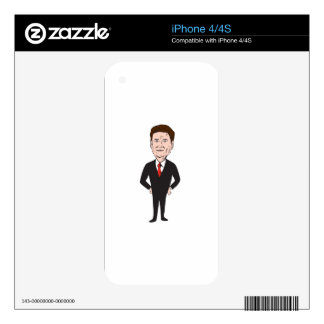 Rand Paul 2016 Republican Candidate iPhone 4S Skin