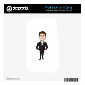 Rand Paul 2016 Republican Candidate iPod Touch 4G Skins