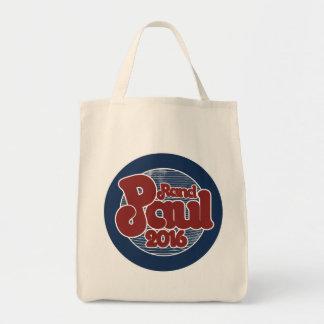 Rand paul 2016 retro style republican tote bag