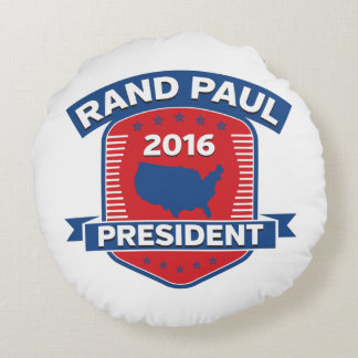 Rand Paul 2016 Round Pillow